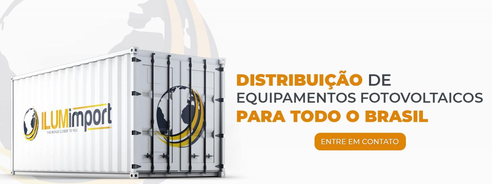 Distribuição de equipamentos fotovoltaicos